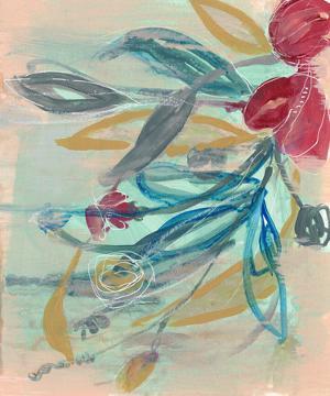 Tropical Bouquet II by Jennifer Goldberger