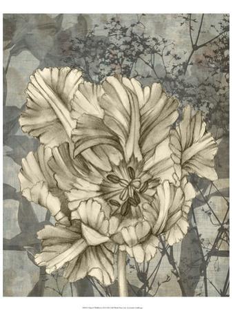 Tulip and Wildflowers IX by Jennifer Goldberger
