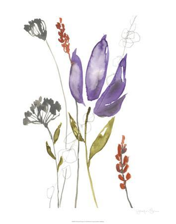 Ultraviolet Bouquet I by Jennifer Goldberger