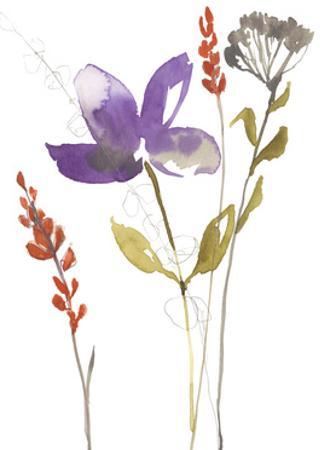 Ultraviolet Bouquet II by Jennifer Goldberger