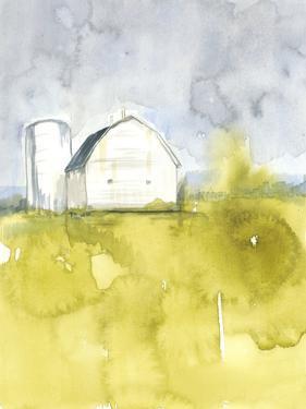 White Barn on Citron II by Jennifer Goldberger