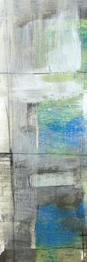 White on Blue IV by Jennifer Goldberger