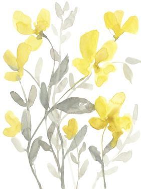 Yellow & Grey Garden II by Jennifer Goldberger