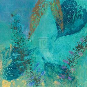 Vibrant IV, Panel One by Jennifer Hollack