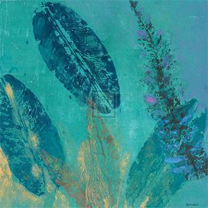 Vibrant IV, Panel Two by Jennifer Hollack
