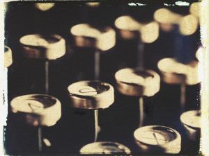 Old Typewriter Keys No.2 by Jennifer Kennard