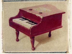 Red Piano by Jennifer Kennard by Jennifer Kennard
