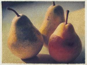 Three Bartlett Pears by Jennifer Kennard