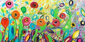 Flower Garden Jazz by Jennifer Lommers