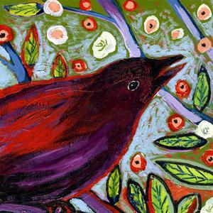 Modern Bird VII by Jennifer Lommers