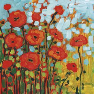 Red Poppy Field by Jennifer Lommers