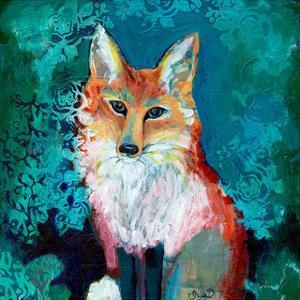 Shy Fox by Jennifer Lommers