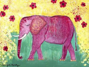 Pink Elephant by Jennifer McCully