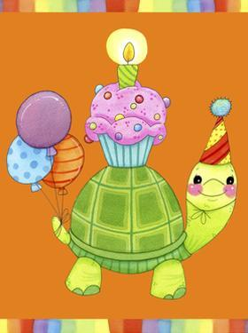 Birthday Turtle by Jennifer Nilsson