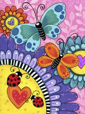 Butterflies and Blooms by Jennifer Nilsson