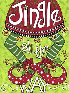Jingle All the Way Elf by Jennifer Nilsson