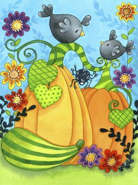 Pumpkin Patch Crows by Jennifer Nilsson