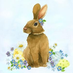 Spring Rabbit 1 by Jennifer Nilsson