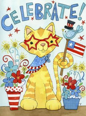 Summer Celebration Cat by Jennifer Nilsson