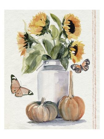 Autumn Sunflowers II