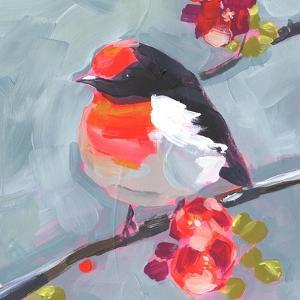 Brushstroke Bird I by Jennifer Parker