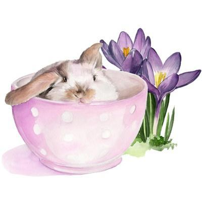 Bunny Crossing II by Jennifer Parker