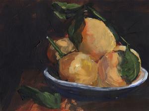 Fruit Plate I by Jennifer Parker