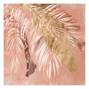 Golden Palms II by Jennifer Parker