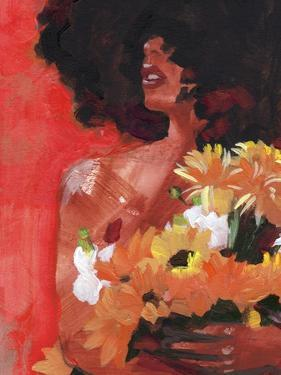 Through the Flowers I by Jennifer Parker