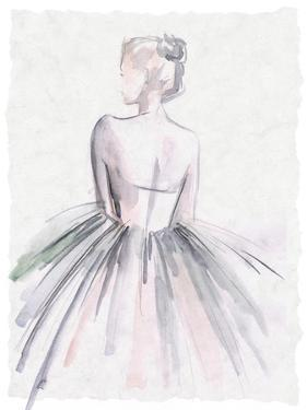 Watercolor Ballerina I by Jennifer Parker