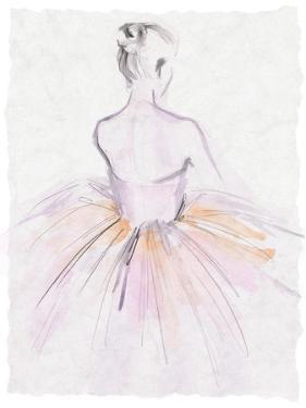 Watercolor Ballerina II by Jennifer Parker