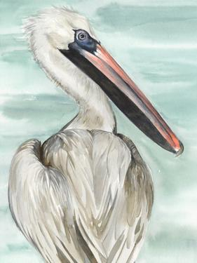 Turquoise Pelican I by Jennifer Paxton Parker