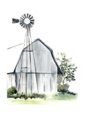 Watercolor Barn I by Jennifer Paxton Parker
