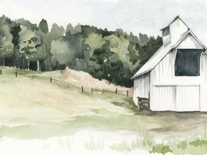 Watercolor Barn III by Jennifer Paxton Parker