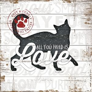 All You Need Is Love - Cat by Jennifer Pugh