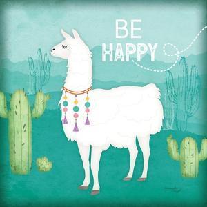 Be Happy Llama by Jennifer Pugh