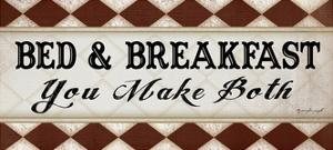 Bed and Breakfast by Jennifer Pugh