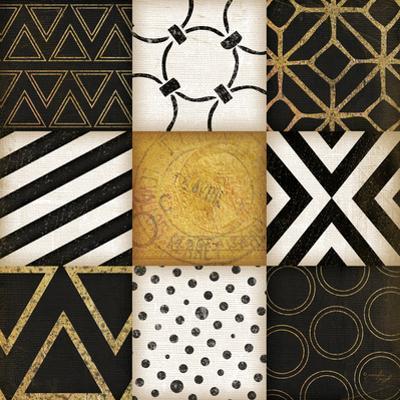 Black-White-Gold II by Jennifer Pugh