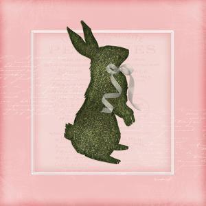 Bunny - Pink by Jennifer Pugh