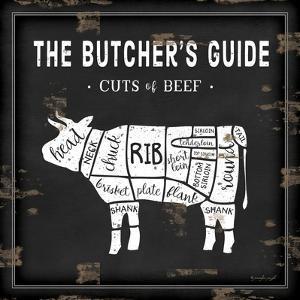 Butcher's Guide Cow by Jennifer Pugh