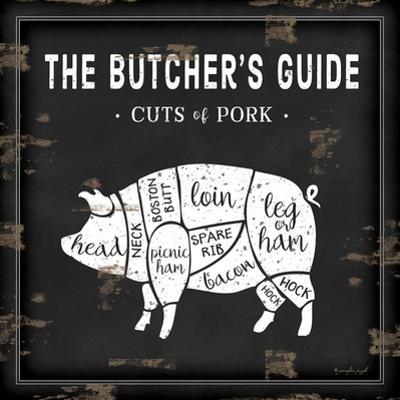 Butcher's Guide Pig by Jennifer Pugh