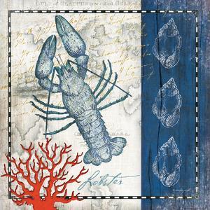 Coastal Blue Lobster by Jennifer Pugh