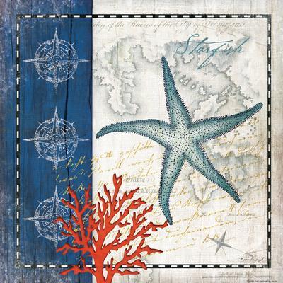 Coastal Blue Starfish