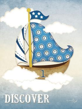 Dream Sailboat I by Jennifer Pugh