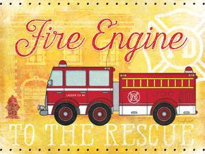 Fire Rescue by Jennifer Pugh