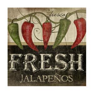 Fresh Jalapenos by Jennifer Pugh