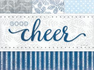 Good Cheer Silver Blue by Jennifer Pugh