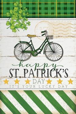 Happy St. Patrick's Bike by Jennifer Pugh