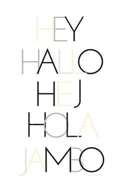 Hello III by Jennifer Pugh
