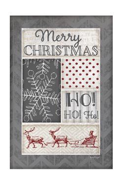 Ho Ho Ho - Pweter by Jennifer Pugh